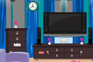 《逃离紫色客厅》游戏画面1