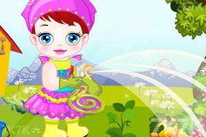 《卢卢娃当园丁》游戏画面1