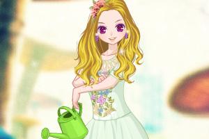 《花园女子》游戏画面1