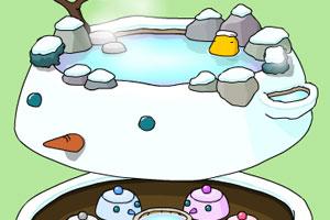 《泡泡温泉》游戏画面1