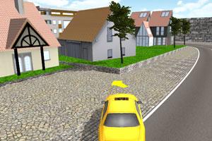 《3D出租车停车》游戏画面1