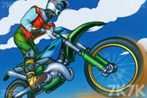 《山路摩托挑战赛》游戏画面1