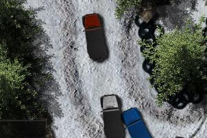 冰雪赛道赛车