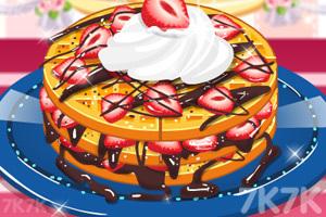 《美味巧克力草莓蛋糕》游戏画面1
