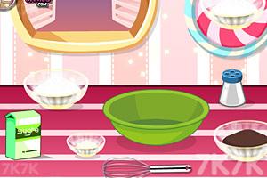 《美味巧克力草莓蛋糕》游戏画面5