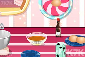 《美味巧克力草莓蛋糕》游戏画面2
