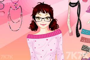 《可爱少女换装》游戏画面1