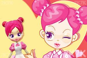 《阿sue设计漂亮娃娃》游戏画面1