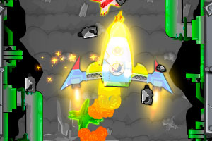 《升空火箭》游戏画面1