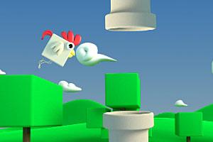 《飞天小鸡》游戏画面1