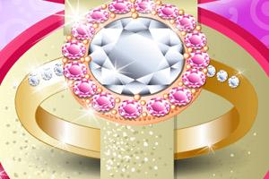 《设计钻石戒指》游戏画面1