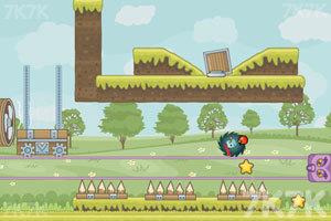 《刺猬果果的苹果乐园》游戏画面2