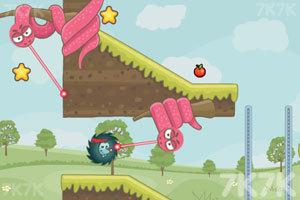 《刺猬果果的苹果乐园》游戏画面1