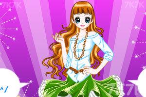 《时尚女王换装》游戏画面4