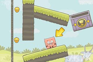 《水坑里的小猪》游戏画面2