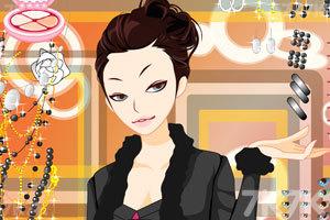 《妩媚MM化妆》游戏画面1