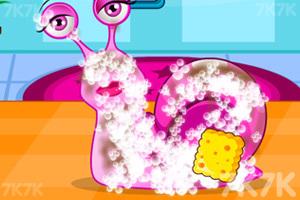 《照顾可爱蜗牛》游戏画面2