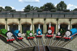 托马斯小火车大修理