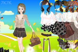 《美女服饰搭配》游戏画面2
