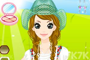 《打扮田园美女》游戏画面2