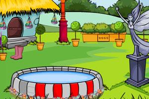 《美丽花园逃脱》游戏画面1