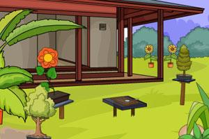 《家庭花园逃脱》游戏画面1
