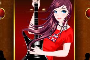 《弹吉他的美女》游戏画面1