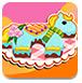 马宝宝生日蛋糕