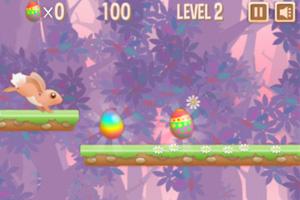 《小兔复活节奔跑》游戏画面1