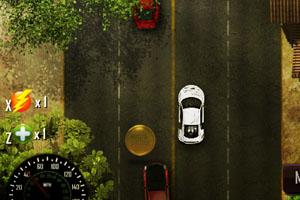 《黄昏公路赛车》游戏画面1