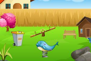 《逃离前院小花园》游戏画面1