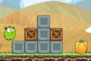 《饿货小猪3选关版》游戏画面1