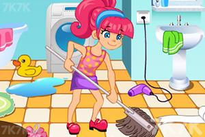 《帮妈妈打扫房间》游戏画面3