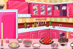 《制作美味冰淇淋蛋糕》游戏画面1