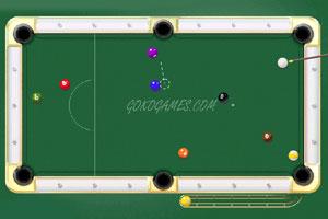 《2D桌球》游戏画面1