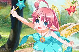 《春天美精灵》游戏画面2