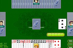 《拖拉机扑克牌》游戏画面1
