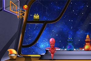 《太空投篮》游戏画面1