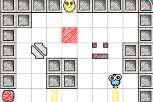 《蛋蛋的光线》游戏画面1