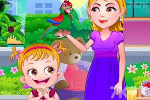 《可爱宝贝照顾鹦鹉》游戏画面4