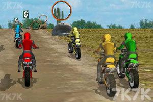 《摩托车拉力赛》游戏画面1