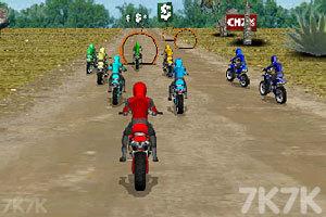 《摩托车拉力赛》游戏画面4