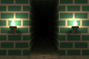 《逃出砖块迷宫房》游戏画面1