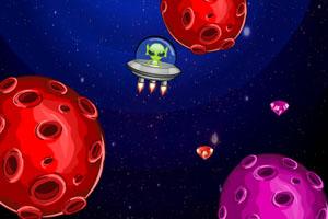 《外星人遨游太空》游戏画面1