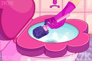 《小公主刷马桶》游戏画面3