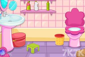 《小公主刷马桶》游戏画面2