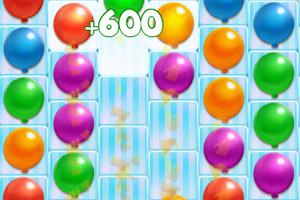 《彩色气球对对碰》游戏画面1