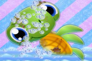 《小海龟洗澡》游戏画面1