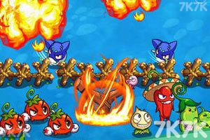 《燃烧的蔬菜2选关版》游戏画面4