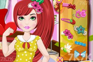 《我的可爱发型》游戏画面2